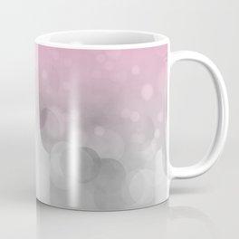 Pink  Grey Soft Gradient Bokeh Lights Coffee Mug