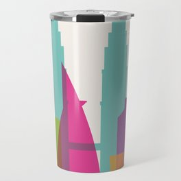 Shapes of Kuala Lumpur. Accurate to scale Travel Mug