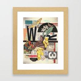 W3 Framed Art Print
