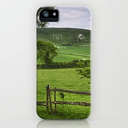 The Long Man Of Wilmington iPhone Case