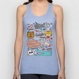 WELCOME TO THE JUNGLE Unisex Tank Top