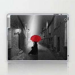 Alone in the rainy night Laptop & iPad Skin