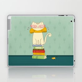 Criticat - your best book reviewer  Laptop & iPad Skin