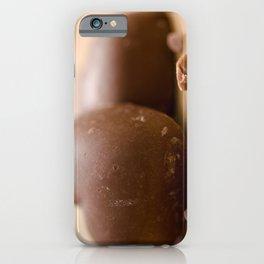 Chocolaty hearts iPhone Case