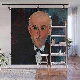 "Amedeo Modigliani ""Max Jacob"" Wall Mural"
