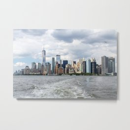 NYC Skyline 2017 Metal Print