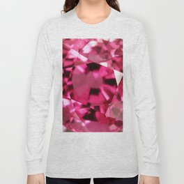 VERY PINK SAPPHIRE OCTOBER BABY'S BIRTHSTONE ART Long Sleeve T-shirt