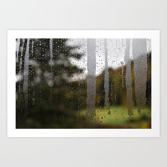 Droplet Landscape II Art Print