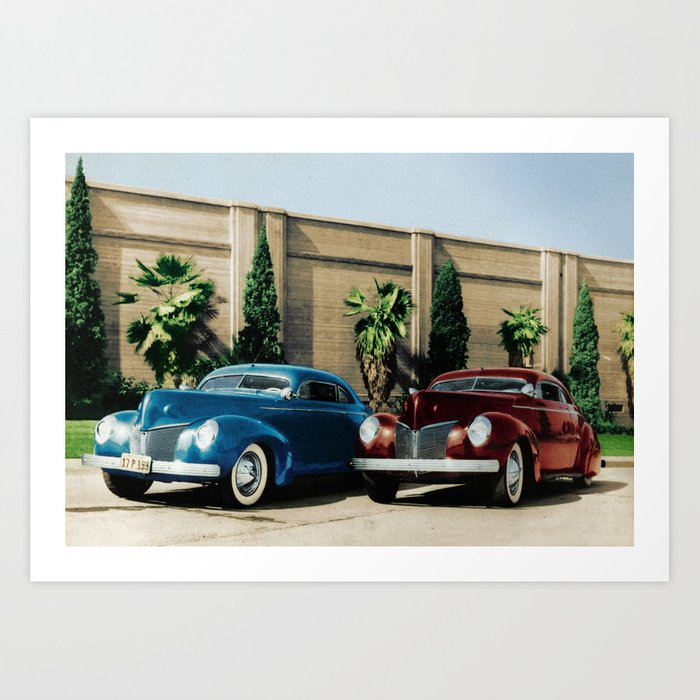 Johnny Zaro - Al Adril '40 Merc Art Print