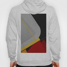 Abstract Composition 413 Hoody