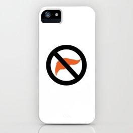 ANTI TRUMP Official logo iPhone Case