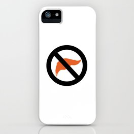 ANTI TRUMP Official logo iPhone Case