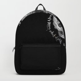 Rubino Metal Skull Backpack