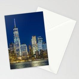 Lower Manhattan, New York 1 Stationery Cards