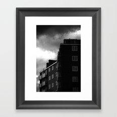 Tottenham Flats Framed Art Print
