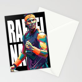 Rafael Nadal pop art Stationery Cards