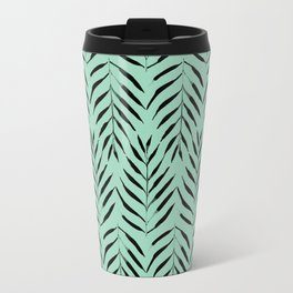 Palm trees in acquamarine Travel Mug