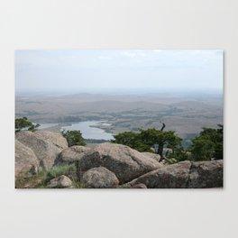 Mt. Wichita Canvas Print
