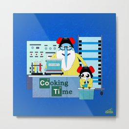 Icekingberg (AdventureTime+BreakingBad) Metal Print