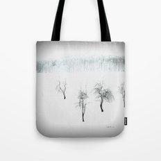 Bare bones in Winter Tote Bag