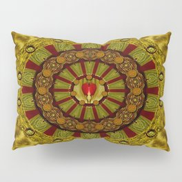 Heavy Metal With A Heart of A Lion In Valentine Time Pillow Sham