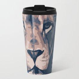 Face to Lion Travel Mug