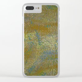 Golden Syrup Clear iPhone Case
