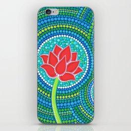 Lotus Family of 3 iPhone Skin