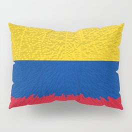 Extruded flag of Columbia Pillow Sham