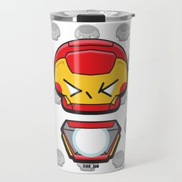 Iron Tony Art Travel Mug