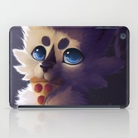pizza iPad Cases featuring Pizza by NezuPanda