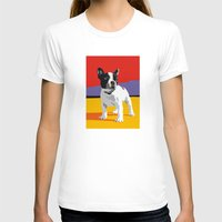 terrier T-shirts featuring Boston terrier by Matt Mawson