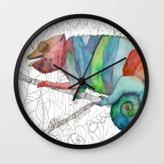 Chameleon Fail Wall Clock