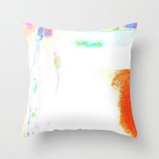 Colorful Hot Planet, Global Warming Throw Pillow