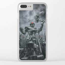 Once More Unto The Breach Clear iPhone Case