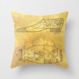 POEM OF SPACESHIP Throw Pillow