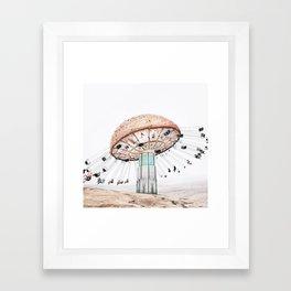 Mushroom Carousel Framed Art Print