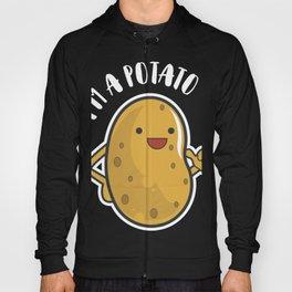 I Am A Potato product, French Fry design, Potato Tee Hoody