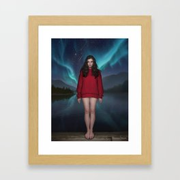 In my dreams I see Framed Art Print