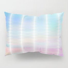 Soft Pastel Oval Geometric Abstract Pillow Sham