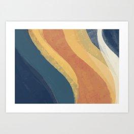 Paint Texture Surface 49 Art Print