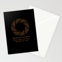 Aperture Science Stationery Cards
