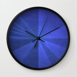 Simple Complex Rays Wall Clock