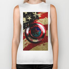 captain hero Biker Tank