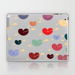 Shot Through the Heart Laptop & iPad Skin
