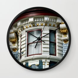A Bit Of The Bulge Wall Clock