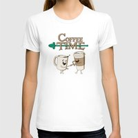 shipping T-shirts featuring Coffee Time! by powerpig