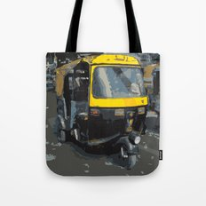 Baby Taxi Tote Bag