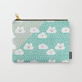 sweet cloud winter design #society6 #decor #buyart #artprint Carry-All Pouch