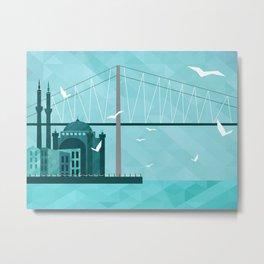 City of Domes Metal Print